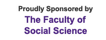 Proudly Sponcered by The Faculty of  Social Science